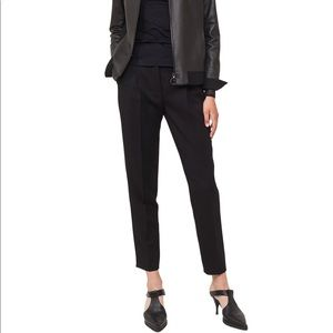 Akris Punto 100% Wool Cropped Straight Trousers
